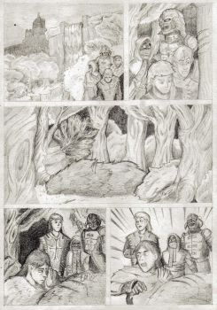 mighty warriors comic pagina 1 by KevinTrentin
