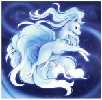 Alola ninetails by Midna01