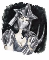 Lady Shredder by BigChrisGallery