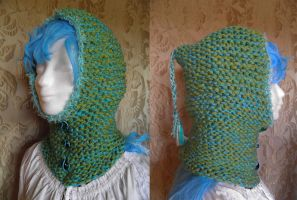 hooded cowl SLF100 by JanuaryGuest
