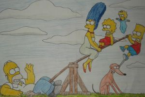 The Simpsons by galis33