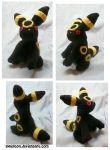 Umbreon Plush by Swadloon