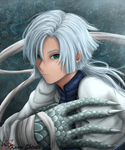 Kija, the White Dragon (Akatsuki no Yona) by KanoeShirota