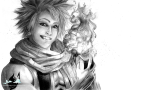 Fairy Tail - Natsu Dragneel (realistic) by CloudsKeeper