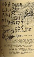 Daedric Runes by kahlure