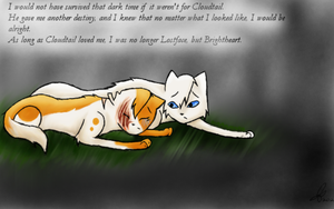 Brightheart and Cloudtail by faunaria