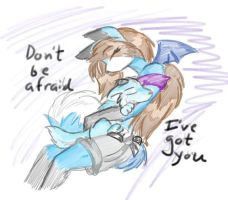 Youre safe now by tierafoxglove