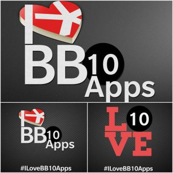 I Love BB10 Apps Campaign  by quen-quen
