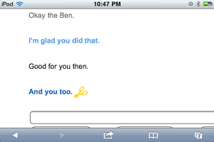 Talking to clever bot about Ben Part 6 by Death10281