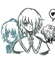 Therius and Yurick sketchs :o by Halouette