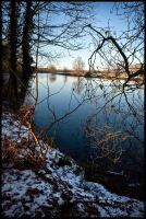 Winter River by grimleyfiendish