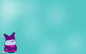 Chowder Light Blue Wallpaper by thales-img