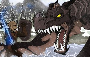 Skyrim: Dragonborn by Adam-Leonhardt