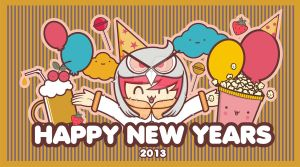 HAPPY NEW YEARS 2013 by bagusetiawan
