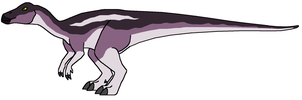 Maiasaura female from When Worlds Collide by DinoWrassler620