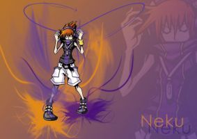 The World Ends With You: Neku by TimeScar13
