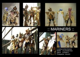 Mariners Cosplay team2 by zaionic