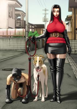 Her dog's slave by enkaboots