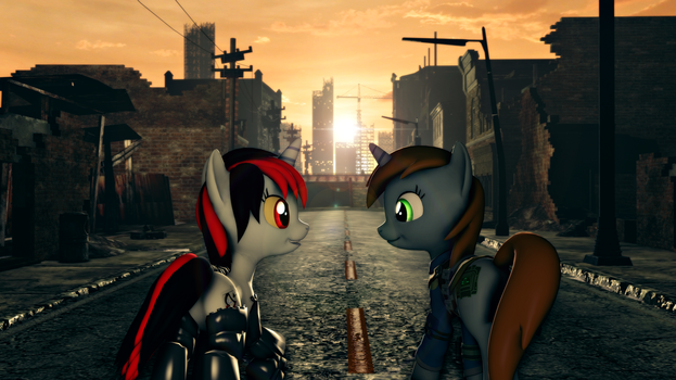 Fallout Equestria -- Journey to the End by FiosCrasher