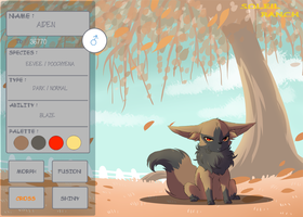 PKMNation - Aiden App by FuufuuSketch