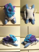 Poke Plushie - Suicune Gift by Sexual-Pancake