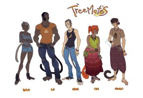 TreeMates cast by Fedini