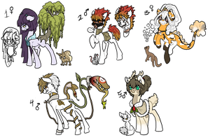 Pony collab adopts 2 CLOSED by Sarahostervig