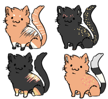 Cat Breeding Results 13 [2/4 OPEN] by redroseadopts