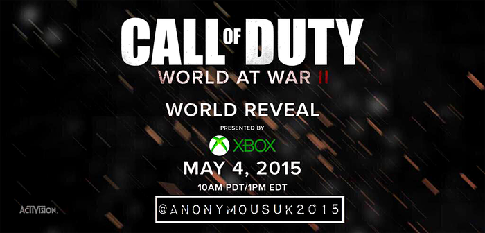Call Of Duty: World At War II 'Leaked' Poster by spikeymikey0196