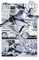 Injustice Flash Wonder Woman Batman pencils01 by Raffaele-Ienco
