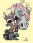 ROCKET RACCOON by JayFosgitt
