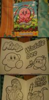 Kirby and Rainbow Curse Coloring Book by MarioSimpson1