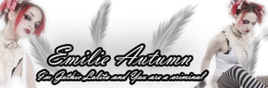 Emile Autumn Sign 1 by KnucklesTheEchidna53