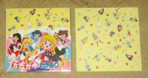 Sailor Moon R Origami Paper by avaneshop