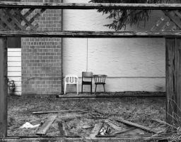 Abandoned Seating by Oinkment