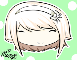 Nat's Chibi head request by mimihgfh