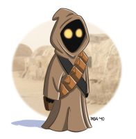 Jawa from Star Wars by pasatheone
