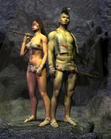 Barbarian Rags V4 and  M4 by SickleYield