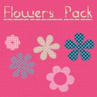 flowers pack png by kikarr