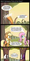 Won't Sompony Think of the Trees (traducido) by innuendo88