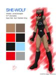 She-Wolf Model 201508 by Dragonfly177