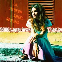6000 pageviews by lilbrokenangel