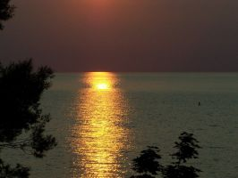 Hamlin Beach Sunset Photo 2 by drywall420