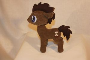 Dr. Whooves Plush by TheRedBandit