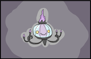 Chandelure by PastYourBedtime