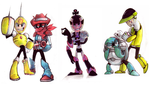 GameoverBR's robot masters by Sony-Shock