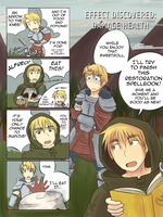 USUK SKYRIM AU - Effect Discovered by burntnoodles