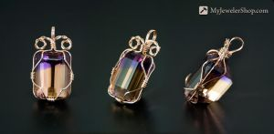 Ametrine Wire Wrapped Pendant by Sketchy-Stories