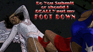 SDS-UnderGround-Wrestling-Feeling-the-Boot by ORcaMAn001