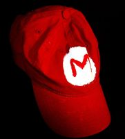 Mario Hat by ChopShackle